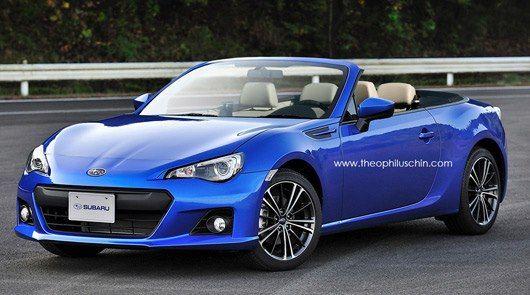 Subaru Brz Photoshop Convertible Cool Sports Cars