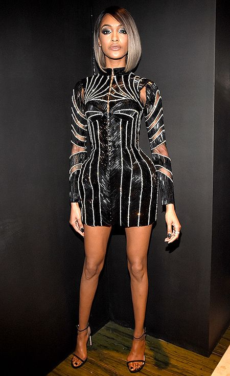 24 Met Gala Afterparty Dresses You Can't Miss | People - Jourdan Dunn in Balmain