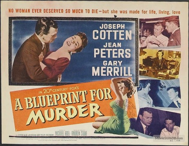 A blueprint for murder lobby card tcf movie lobby title cards a blueprint for murder lobby card malvernweather Image collections