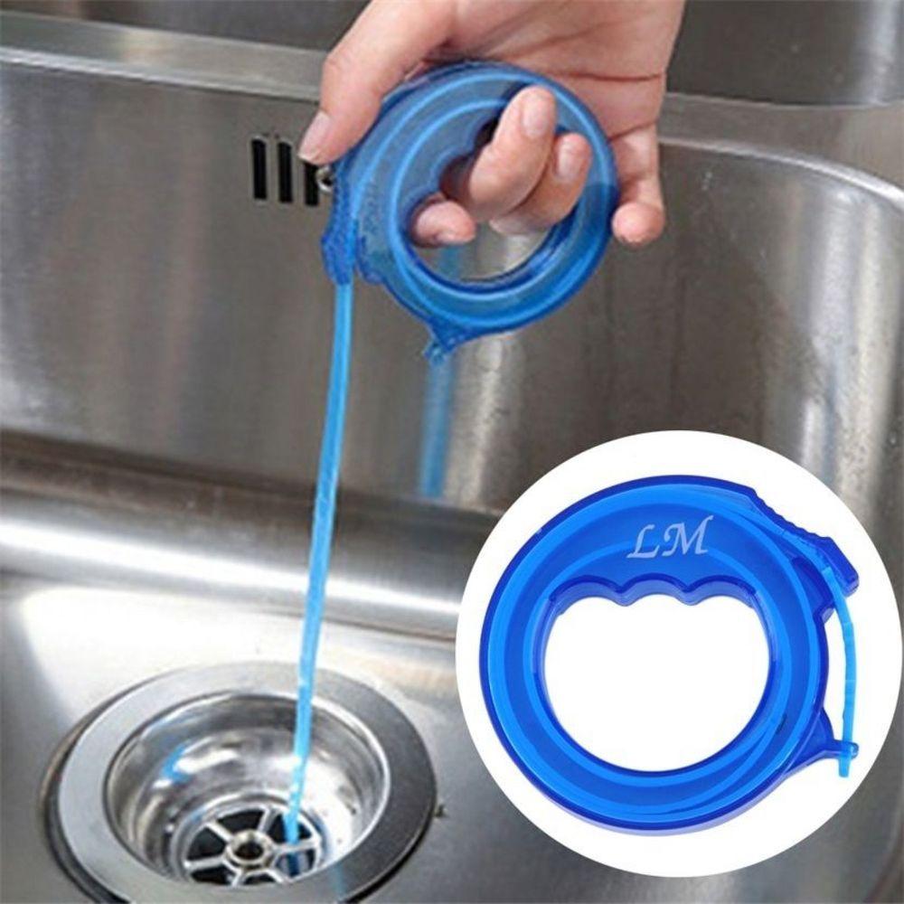Drain Sink Cleaner Bathroom Unclog Sink Tub Toilet Snake Brush Hair ...