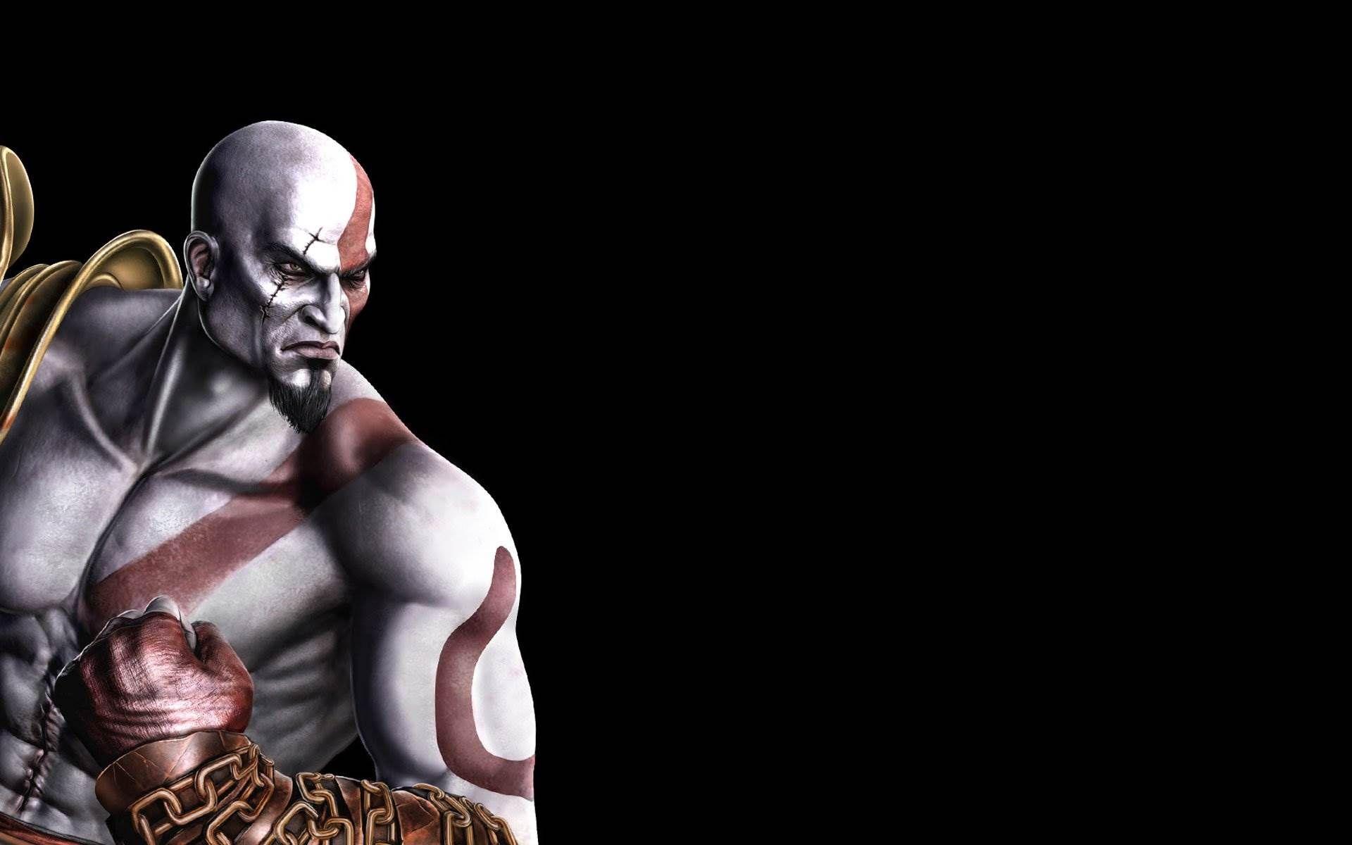 kratos fighting in god of war hd desktop wallpaper : widescreen