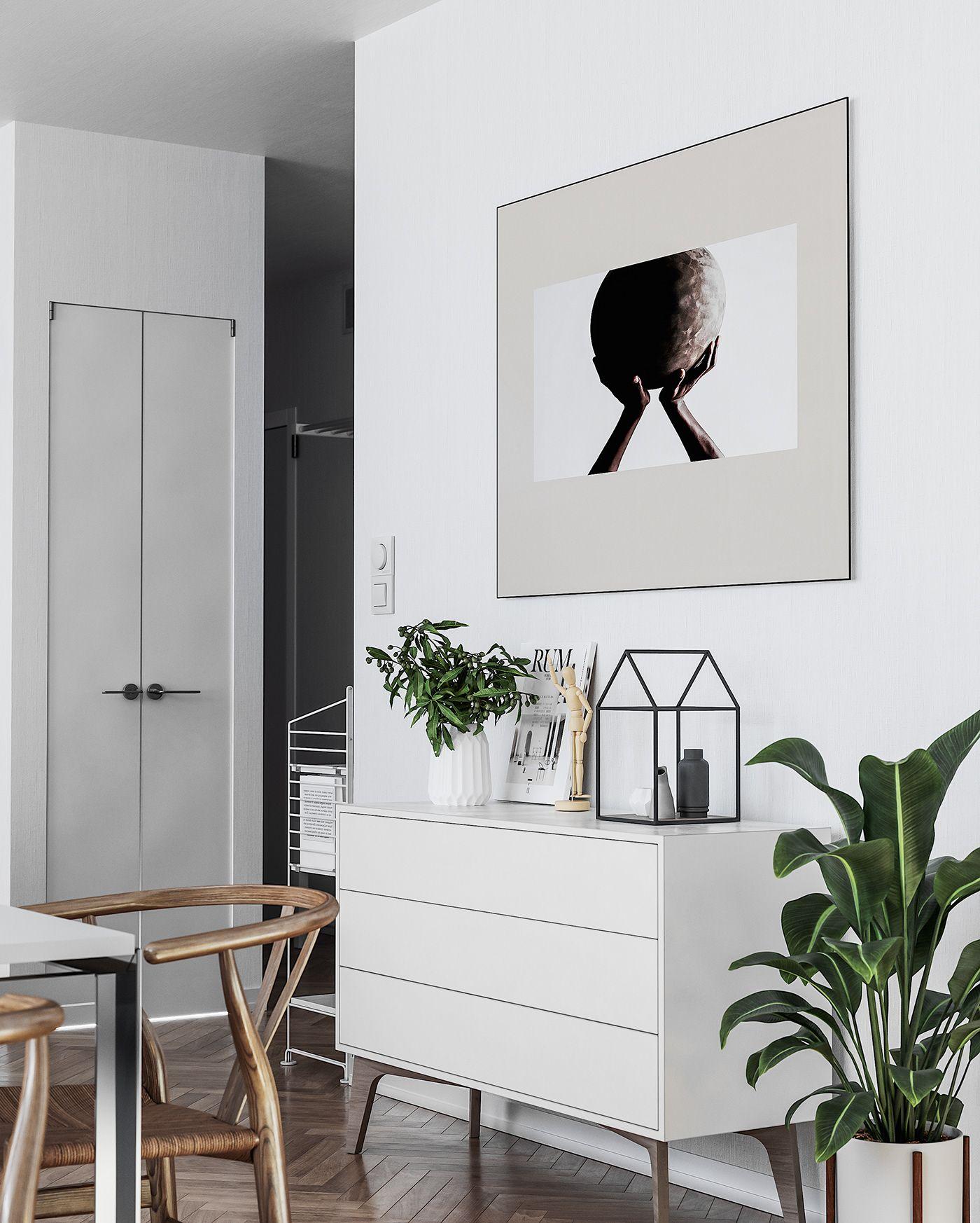 Scandinavian Apartment In London On Behance Modern Scandinavian Interior Scandinavian Apartment London Apartment