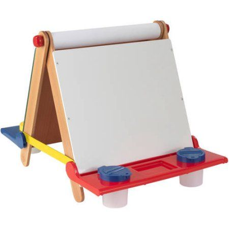 Kidkraft Tabletop Easel Blue Products Easel Toys Cool