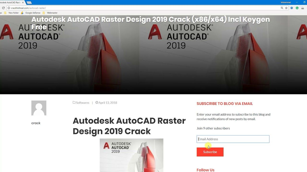 keygen for autocad 2019
