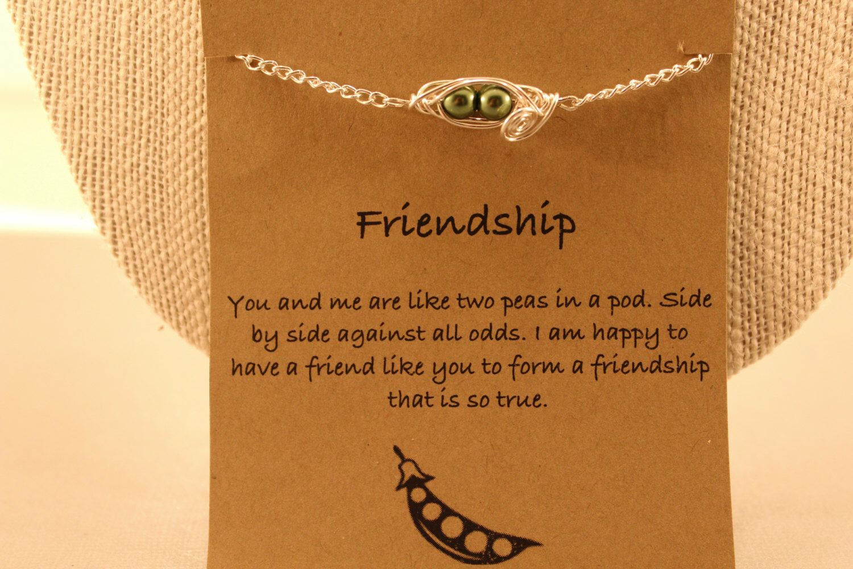 Two Pod Bracelet Peas In A Friendship