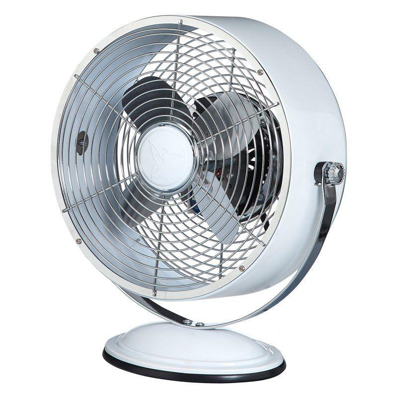 Deco Breeze Retro Swivel Table Fan Dbf6157 Metal Fan Retro Fan