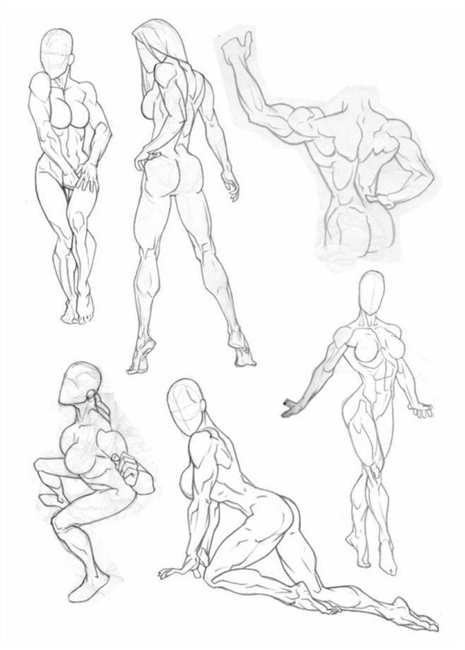 Academic Sculpture | Art | Pinterest | Anatomía, Bocetos y Poses de ...