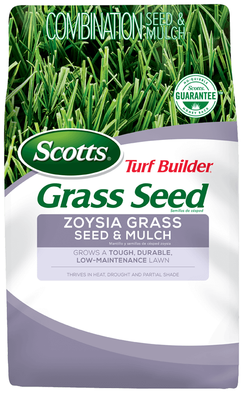 Scotts Turf Builder Zoysia Grass Seed And Mulch Grass Seed Scotts Zoysia Grass Seed Zoysia Grass Grass Seed