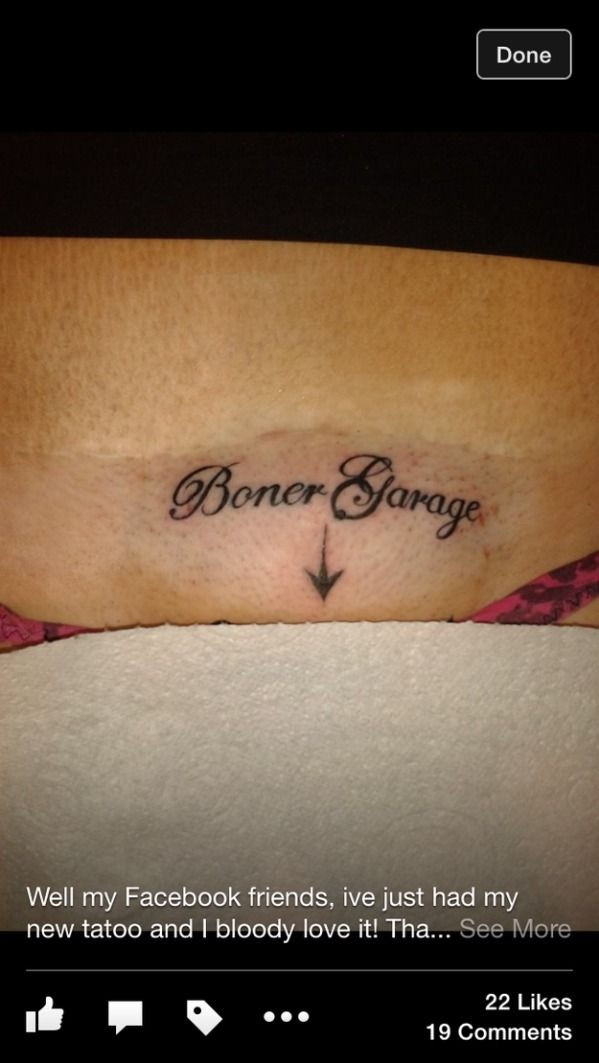 MOST embarrassing tats that'll need redos, if they're ...