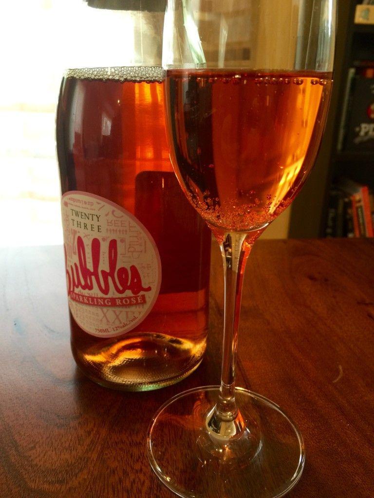 Twenty Three Bubbles Sparkling Rose Rose Bubbles Alcoholic Drinks