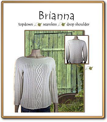 Brianna Knitting Pattern