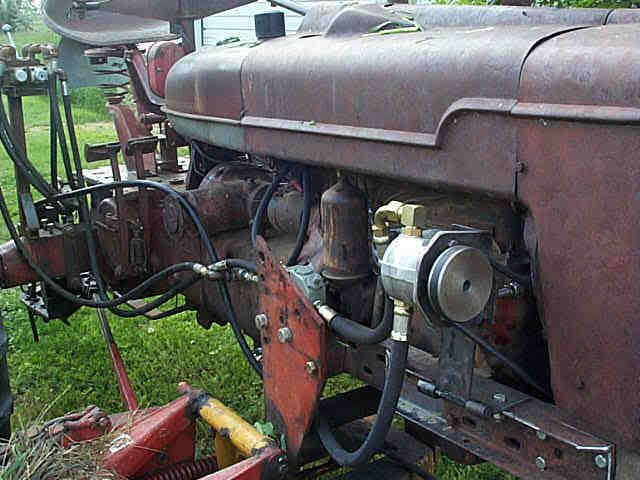 Mccormick Farmall M With Added Live Hydraulic Pump