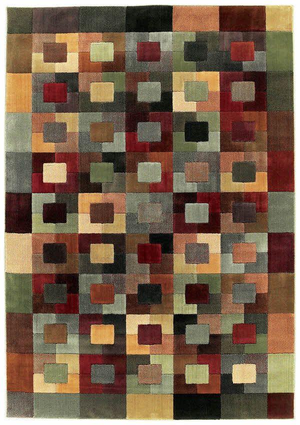 Shaw Impressions Matrix Multi 07440 Area Rugs