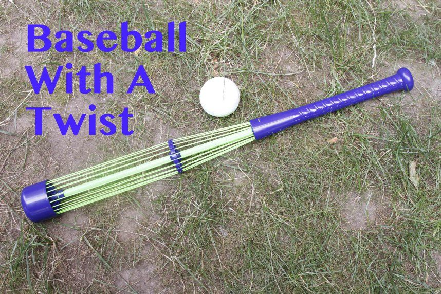 Encourage your kids to head outdoors and play baseball.