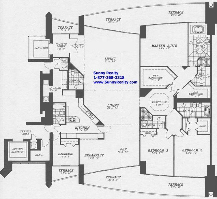 Treasure Island Floor Plan Santa Maria Floor Plan Tower