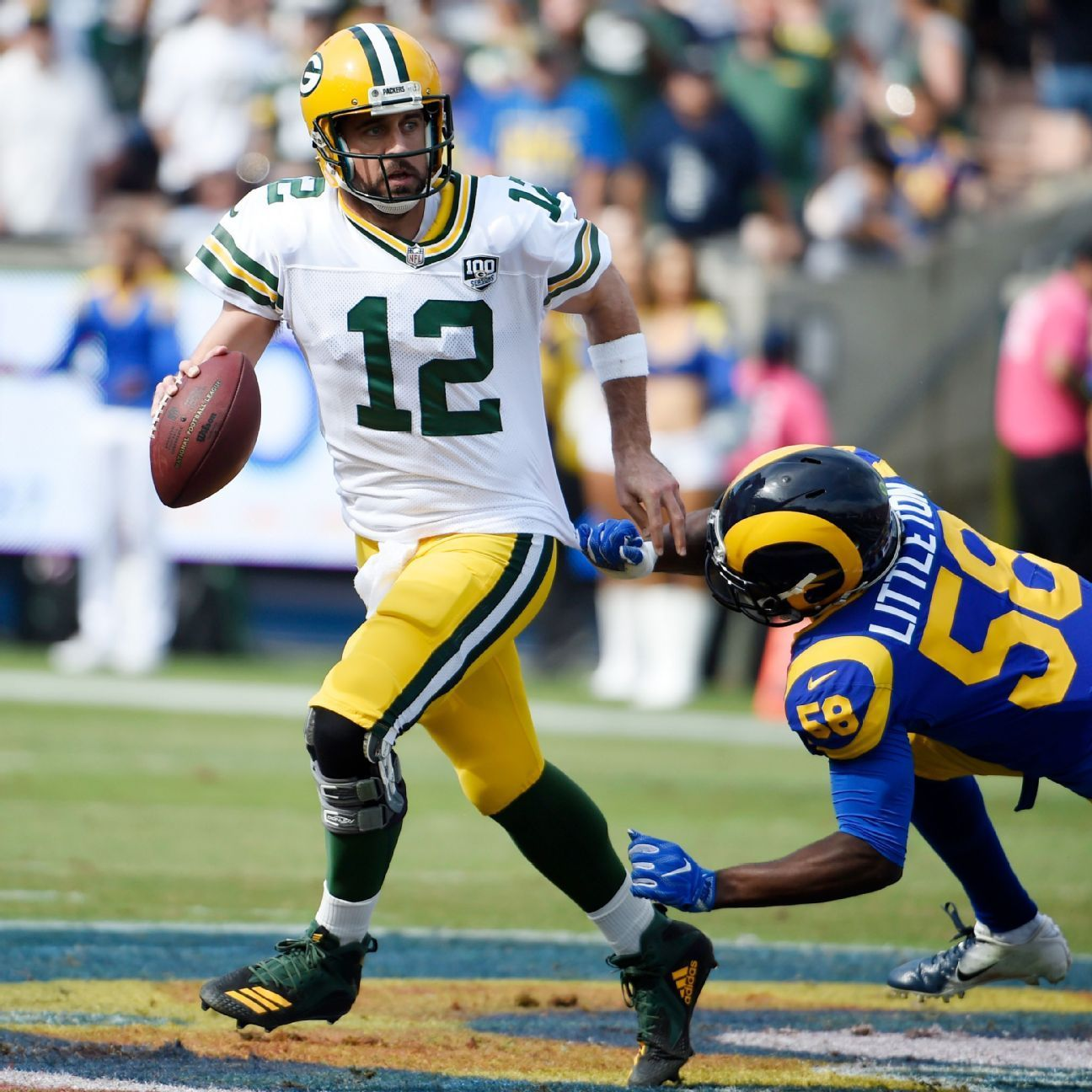 Green Bay Packers Wr Randall Cobb To Return Excited About What Aaron Rodgers Will Do Aaron Rodgers Green Bay Packers Green Bay
