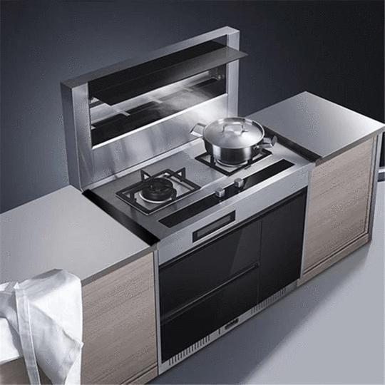 Counter Bridge Gap Cover Geekaget Modern Kitchen Cabinets