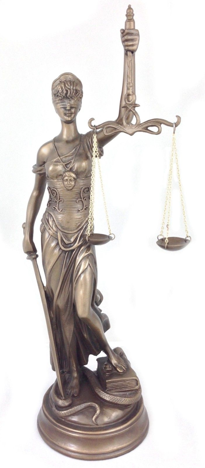 Blind Lady Of Justice Statue Themis Perfect For Every Attorney Lawyer Judge Statue Justice Statue Company Gifts
