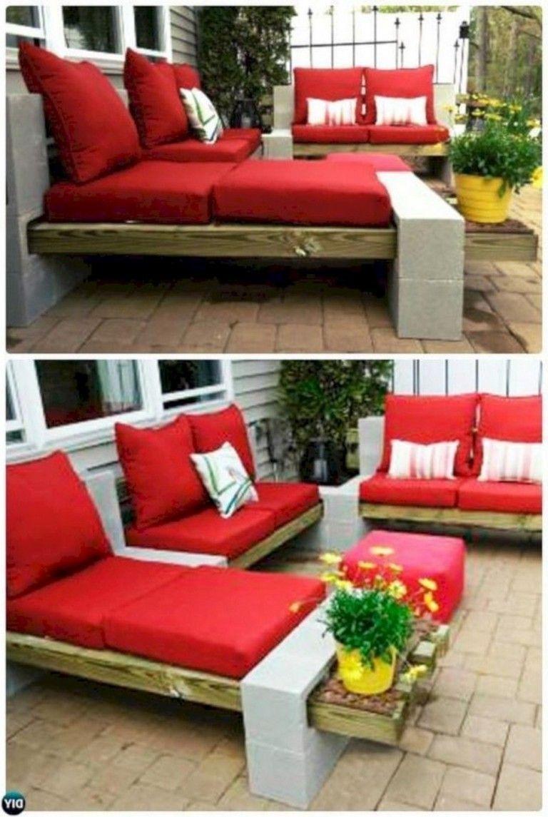 47 Grosse Ideen Von Mobeln Und Dekorativen Blocken Block Cinder Decor Diy Meubles Diy Patio Furniture Cinder Block Furniture Diy Outdoor Furniture