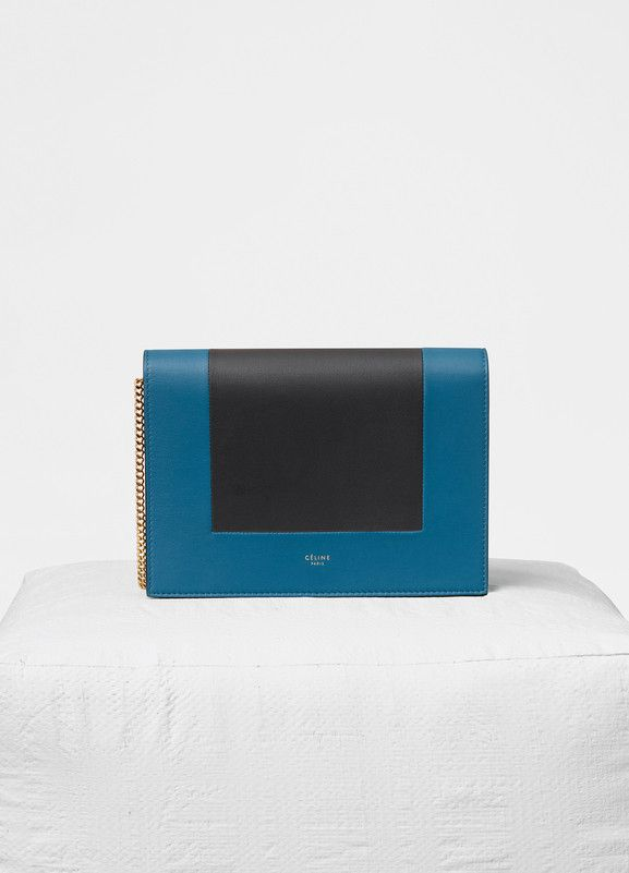 Frame Evening Clutch On Chain In Smooth Lambskin 1400