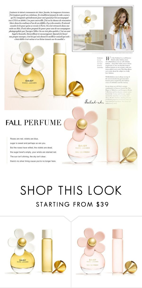 """""""Untitled #54"""" by sabah-zhr ❤ liked on Polyvore featuring beauty and Marc Jacobs"""