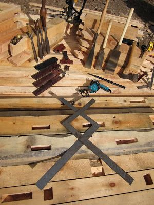 Tools of the trade - nice composition, Woodwright Timber Frames and ...