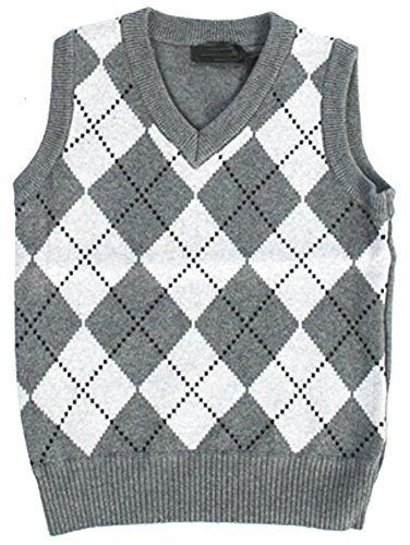Fouger Little Boys' Diamond Sweater Vest *** Review more details @