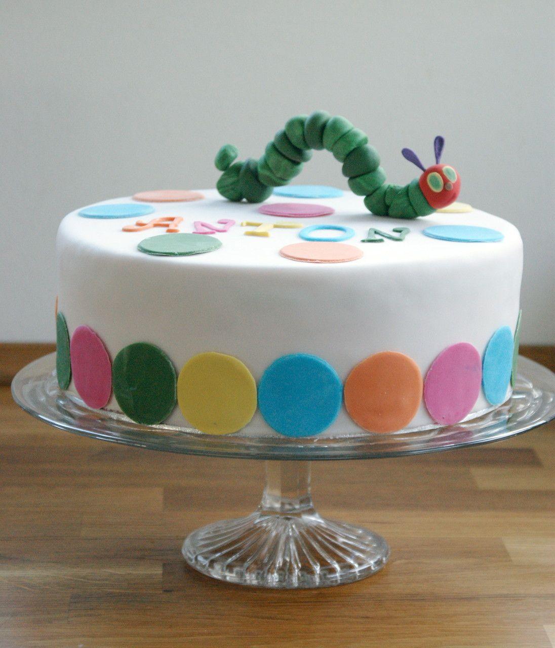 Torte Kleine Raupe Nimmersatt Tarts Tartes Torts Or