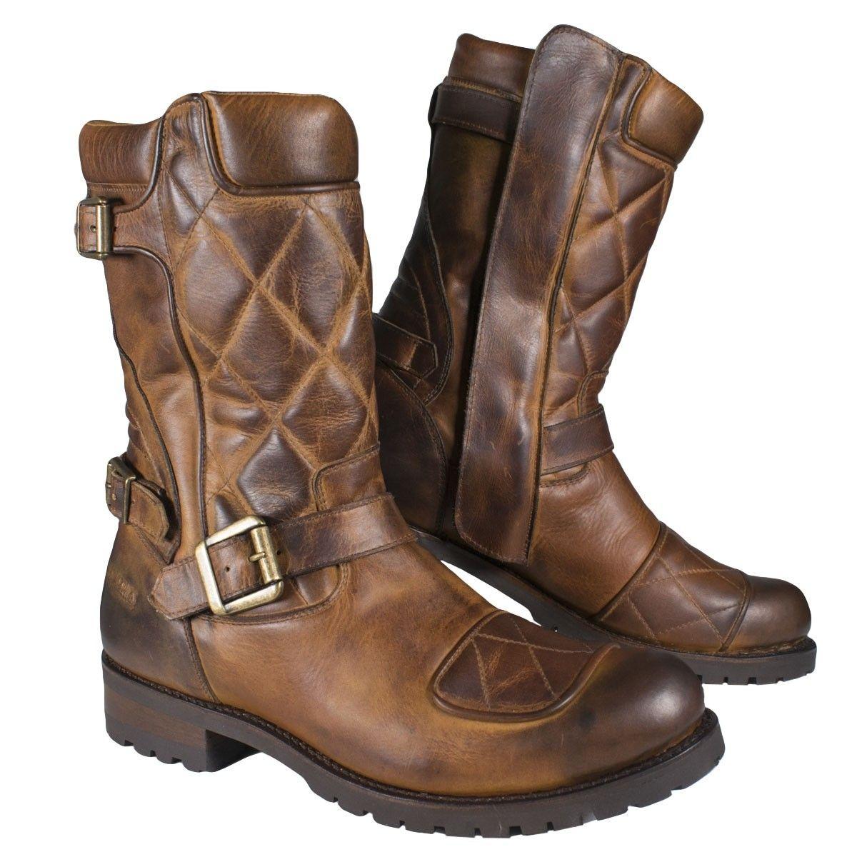 TCX Motorcycle Boots Fuel WP Vintage Brown Vintage Brown 36