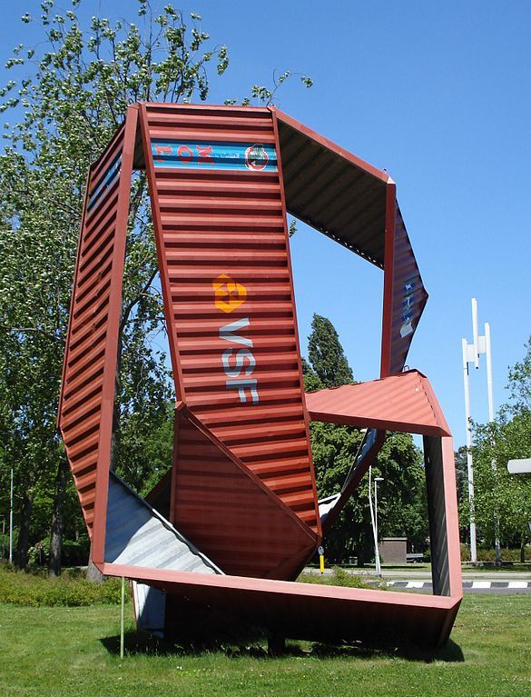 Shipping Container Art You Wonâ T Believe This Rotterdam Installation
