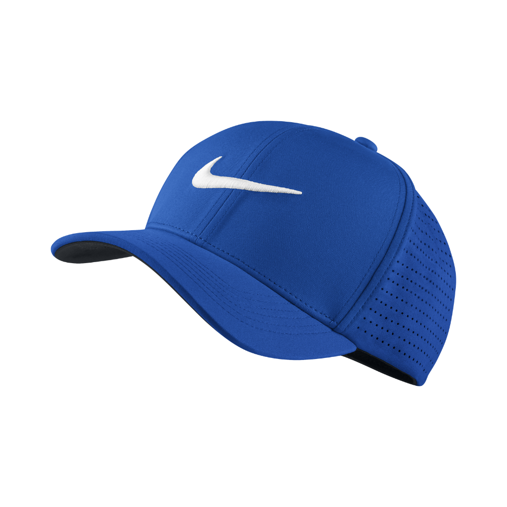 Nike Classic 99 Fitted Golf Hat Size Large XL (Blue)  d9389b27e0c8
