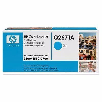 Hp Q2671a Cyan Toner Azul Original Para 3500 3550 Bs 18500 00