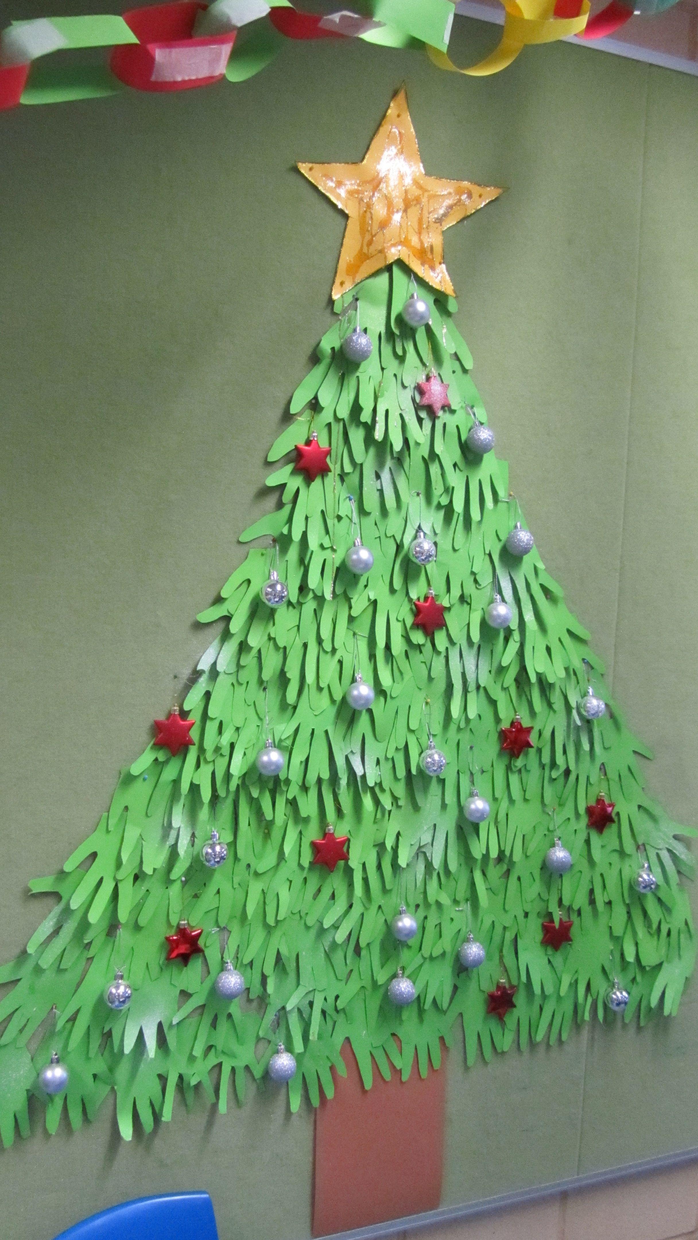 christmas tree handprint - photo #11
