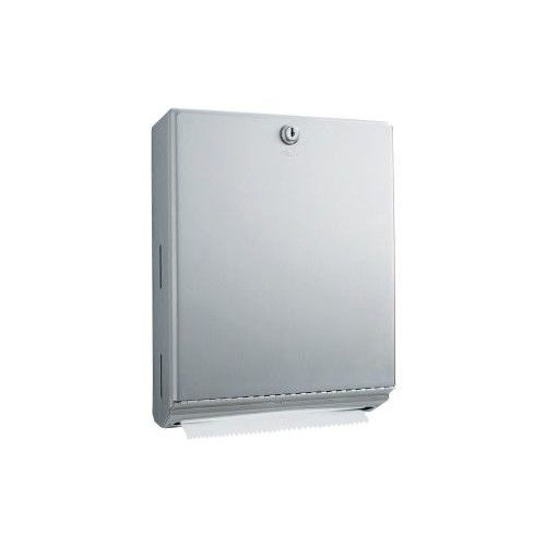 14 H X 10 75 W Surface Mounted Paper Towel Dispenser How To Fold Towels Surface
