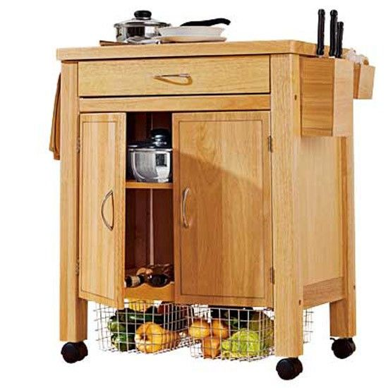 deluxe rubberwood trolley from argos family kitchen diner buys   my pick of the best   kitchen trolley      rh   pinterest com