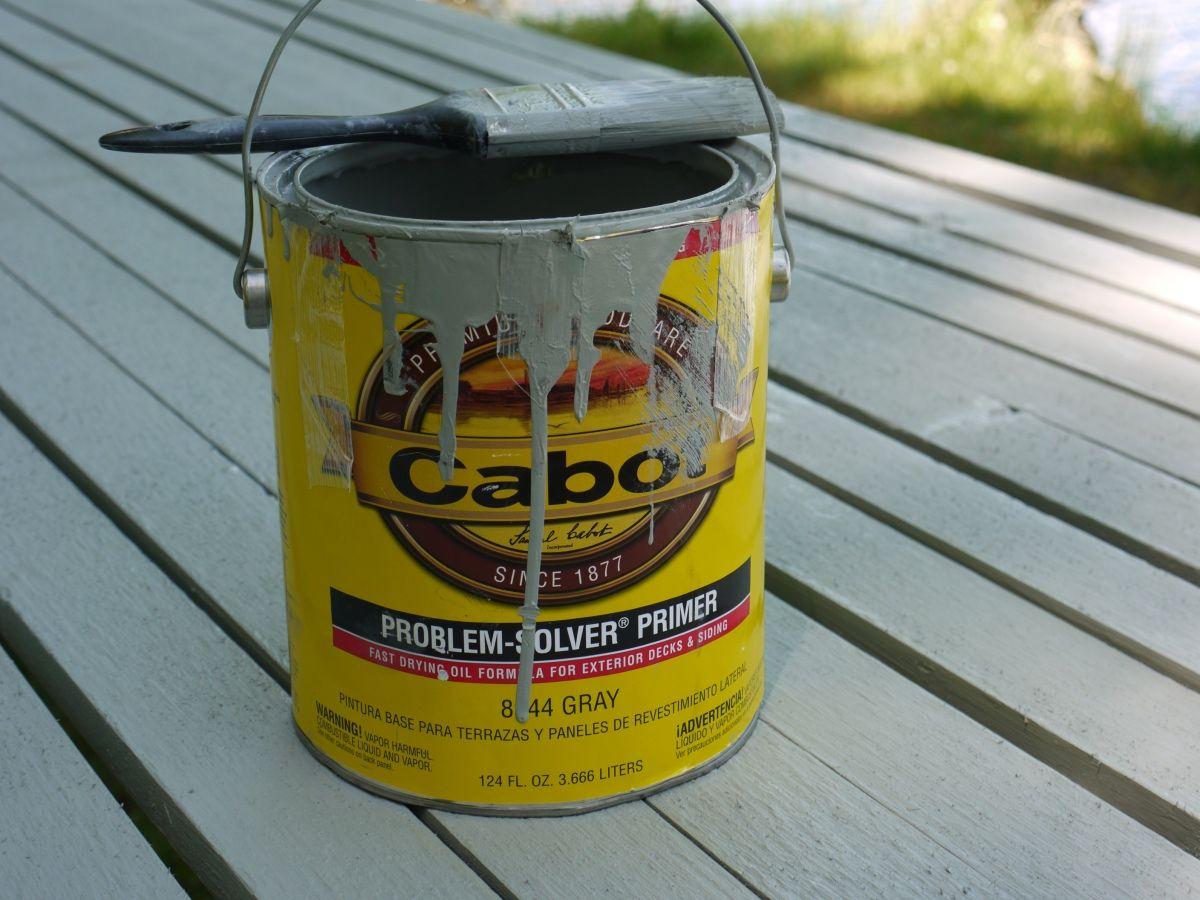 Boards primed with cabot problem solver primer prior to