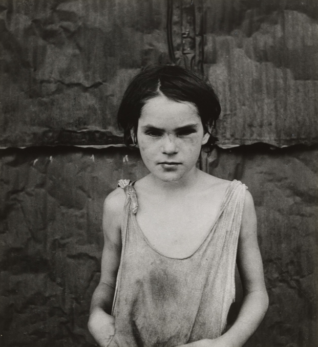 Dorothea Lange Damaged Child Shacktown Elm Grove Oklahoma 1936 Dorothea Lange Elm Grove Walker Evans