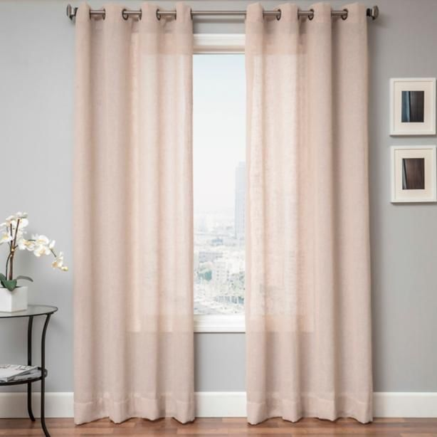 Create A Lovely And Graceful Atmosphere In Your Living E An Instant With These Striking Yet Subtle Curtain Panels Whether Accenting Window