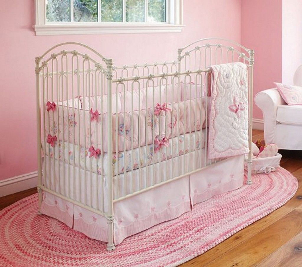 Baby Girl Rooms Wall Colors And Baby Crib Bedding Sets On Pinterest