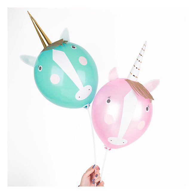 Kit Ballons De Baudruche Licornes
