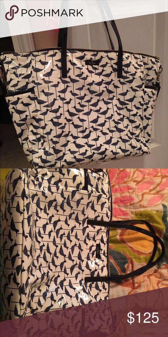 Kate spade diaper bag Brand new blue bird Kate spade diaper bag kate spade Bags Baby Bags
