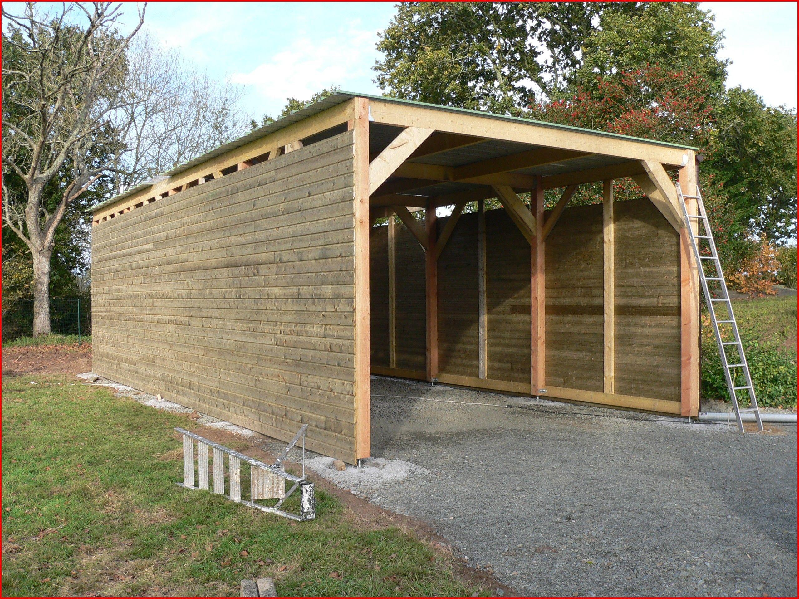Fabriquer Son Garage En Bois Comment Construire Un Parpaing Construction D Hangar Davidreed Co En 2020 Garage Bois Construction Garage Construction Bois