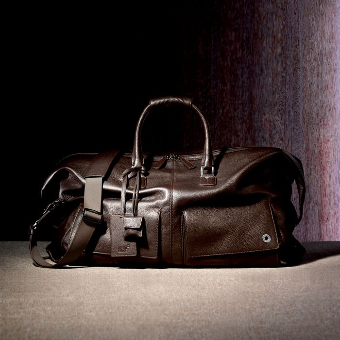 Montblanc's Soft Leather Range Hold-All Bag | Montblanc's perfect ...