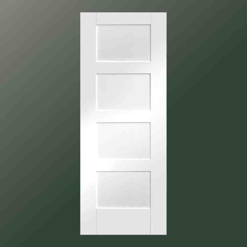 White Shaker 5 Panel Interior Door Glass Google Search Doors