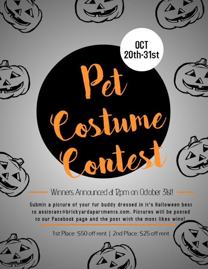 Pet Costume Contest 2018 Resident Events Ideas Apartments Resident Retention Ideas Apartments Resident Appreciation Ideas Apartments