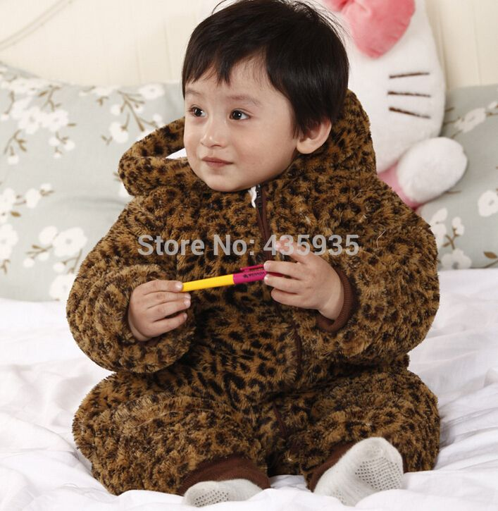 Baby O-Neck Long Sleeve Solid Color Climbing Clothes Tokyo Japan Print Crawling Suit