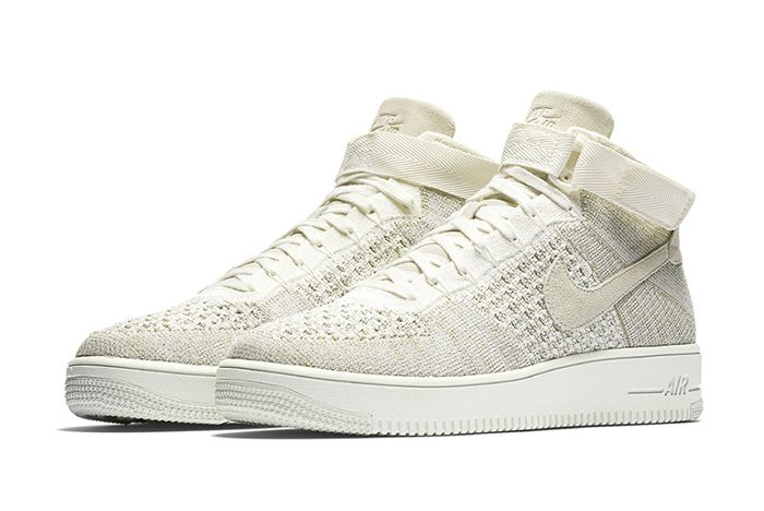 Nike Air Force 1 Ultra Flyknit Mid Sail-3