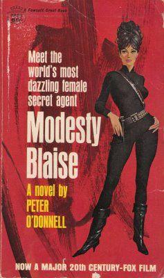 Modesty Blaise Pulp Cover