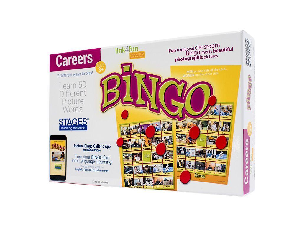 Careers Bingo | Enseignement