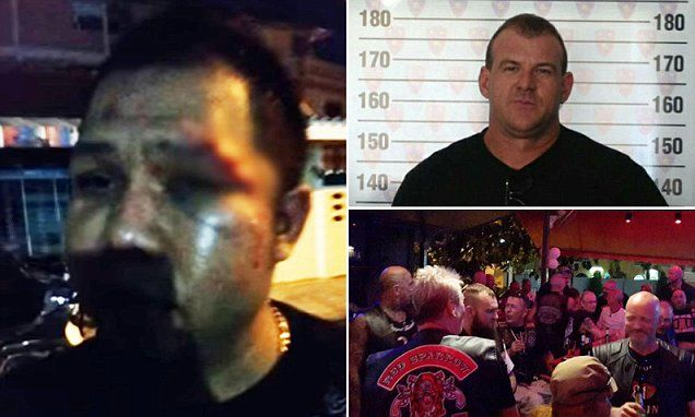Thai bikie 'bashed by Australian Hell Angels' calls for deporation